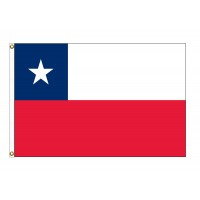 Chile Nylon Flags  (UN, OAS Member)