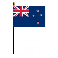 New Zealand Mounted Flags