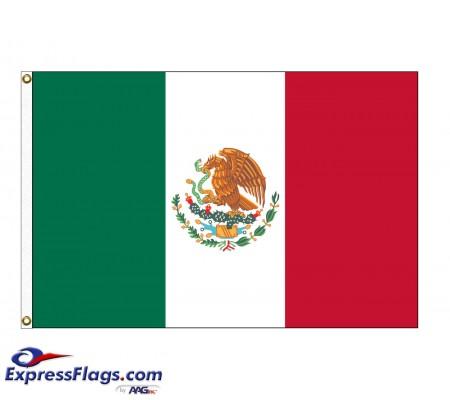 Mexico Nylon Flags (UN, OAS Member)MEX-NYL