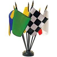 Desktop Racing Flag Set