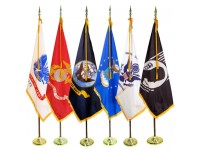 3' x 5' Budget Indoor Military Flag Set (Choice of Flag)