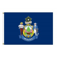 Nylon Maine State Flags