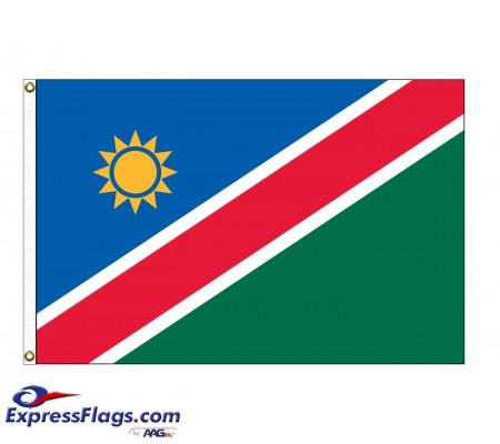 Namibia Nylon Flags (UN Member)NAM-NYL
