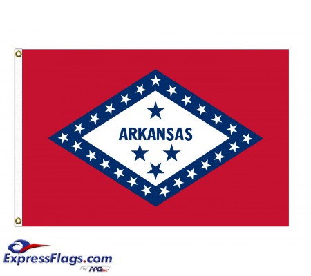 Nylon Arkansas State FlagsAR-NYL