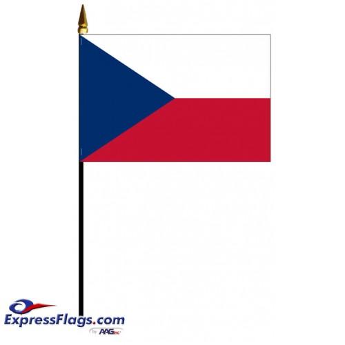 Czech Republic Mounted Flags