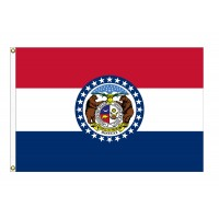 Nylon Missouri State Flags