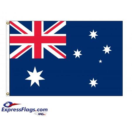 Australia Nylon Flags - (UN Member)AUS-NYL