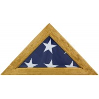 Maple Memorial Flag Case - Fits 5' x 9-1/2' Flag