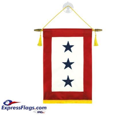 Blue Star Service Banners - 3 StarsBlue-Star-3