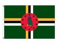 Dominica Nylon Flags - (UN, OAS Member)