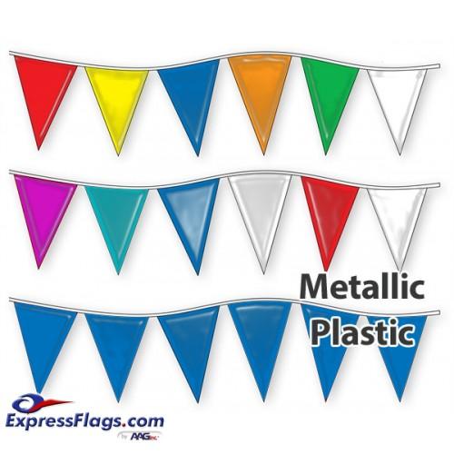 12in x 18in Metallic Pennant StringsRP-M