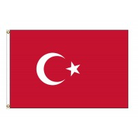 Turkey Nylon Flags (UN Member)