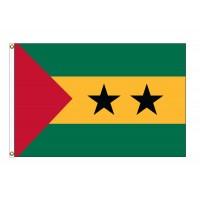 Sao Tome & Principe Nylon Flags (UN Member)
