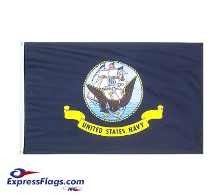 Navy ENDURA-NYLON FlagsUSM-N-NYL