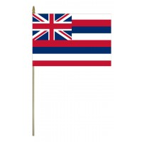 Mounted Hawaii State Flags