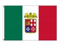 Italy Ensign Nylon Flags