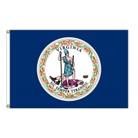 Poly-Max Virginia State Flags