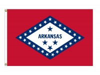 Poly-Max Arkansas State Flags