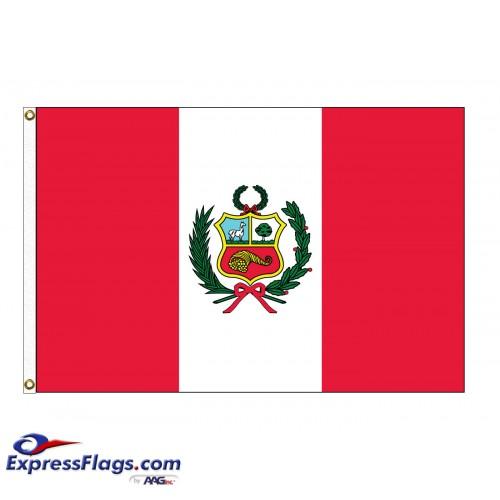 Peru Nylon Flags (UN, OAS Member)PER-NYL