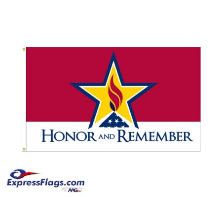 Honor & Remember Flags - 3  x 5070475
