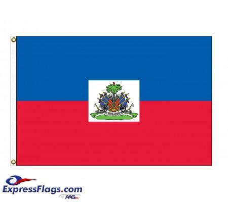 Haiti Nylon Flags (UN, OAS Member)HTI-NYL