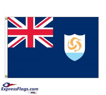Anguilla Nylon FlagsAIA-NYL