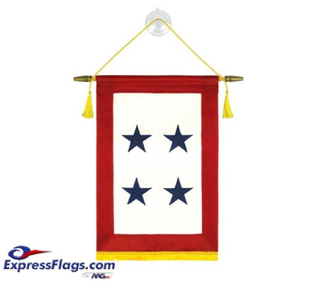 Blue Star Service Banners - 4 StarsBlue-Star-4