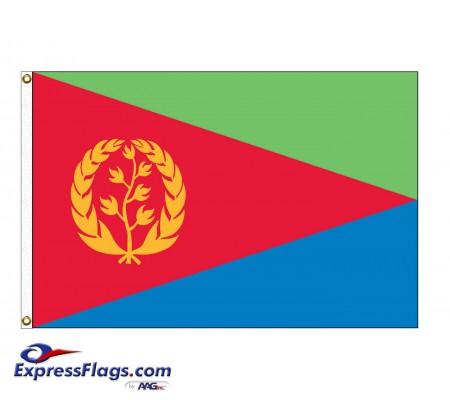 Eritrea Nylon Flags (UN Member)ERI-NYL