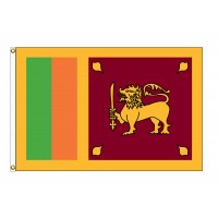 Sri Lanka Nylon Flags (UN Member)