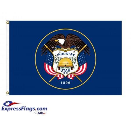 Poly-Max Utah State FlagsUT-PM