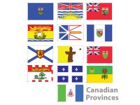 3' x 5' Canadian Provinces Nylon Flags