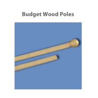 Budget Wood Indoor Poles