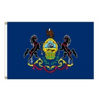 Nylon Pennsylvania State Flags
