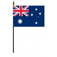 Australia Mounted Flags