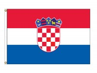 Croatia Nylon Flags  (UN Member)
