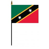 Saint Chris-Nevis Mounted Flags
