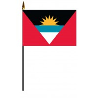 Antigua & Barbuda Mounted Flags