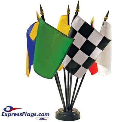 Desktop Racing Flag Set110052