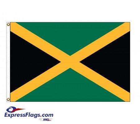 Jamaica Nylon Flags (UN, OAS Member)JAM-NYL
