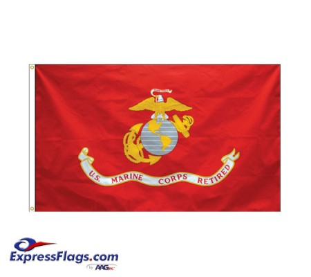 Marines Corps Retired Flags - 3  x 5070191