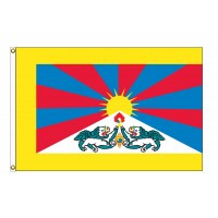 Tibet E-Poly Flags - 3' x 5'