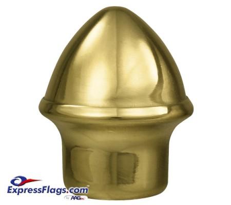 Solid Brass Acorn Ornament for Indoor Display FlagpolesSBSFA