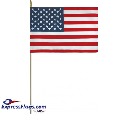 Endura-Poly U.S. Stick Flags - Made in USAEP-USSF