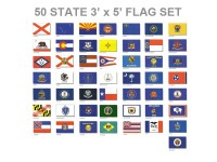 3' x 5' 50 State Flag Set - Endura-Nylon