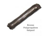 Bronze Polypropylene Flagpole Halyard