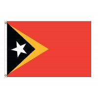 East Timor Nylon Flags - (UN Member)