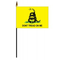 Mounted Gadsden Don't Tread On Me Flags