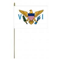 Mounted Virgin Islands Flags