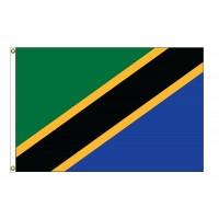 Tanzania Nylon Flags (UN Member)