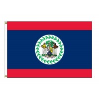 Belize Nylon Flags - (UN, OAS Member)